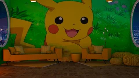 Pikachu - Glamour - Living room  - by deleted_1614966330_Pokemon101