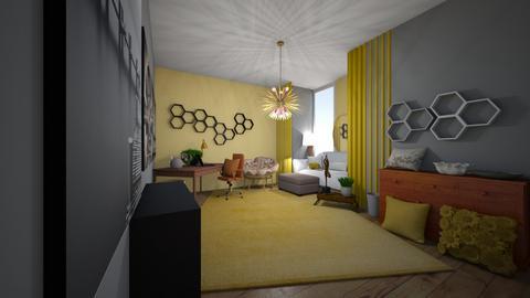 Bee office - Office  - by Xxblue_romanxX