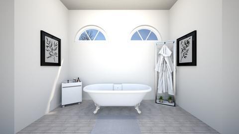 Standing Tub - Bathroom  - by josielz