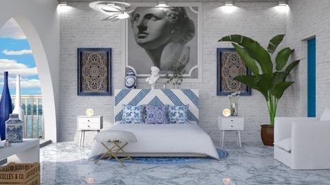 Greece - Modern - Bedroom  - by deleted_1614159534_Naima A