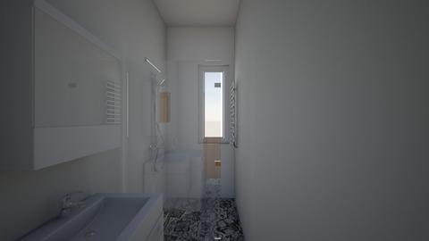lazinekkafelki - Bathroom  - by Monika Ign