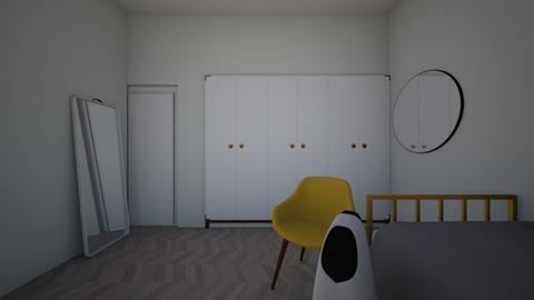 My Bedroom - Modern - Bedroom - by SaBsEpLaNsRoOmS1