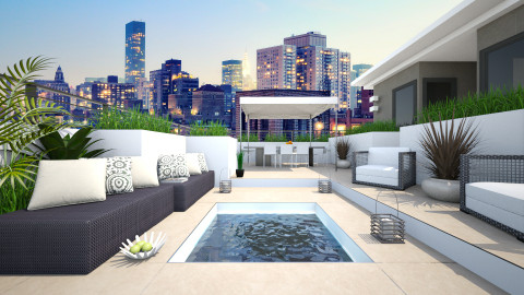 Roof Top - Modern - Garden  - by channing4