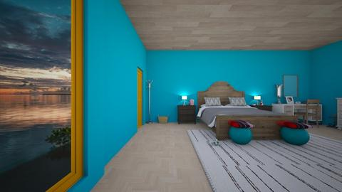 Beach Bedroom - Modern - Bedroom  - by RODIO124