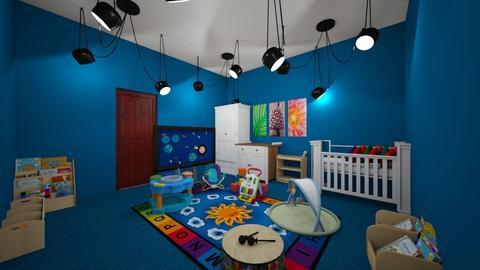 Baby boy - Kids room - by Lani torres