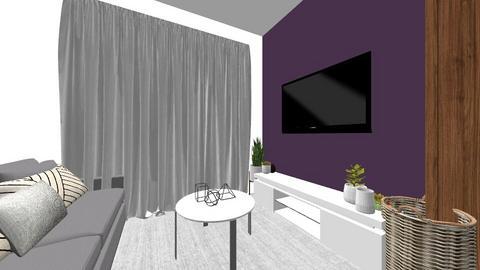 minha sala - Living room - by kaahfernandess