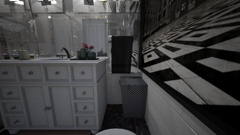 Sylwia i Tomek 16 - Bathroom  - by Joanna88