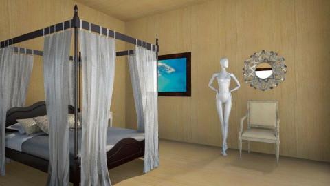 light bedroom - Bedroom - by AnaZderic