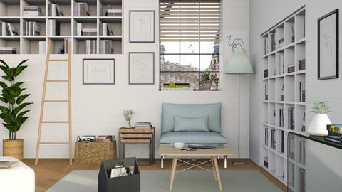 Reading Nook - Minimal - Living room  - by Sally Simpson