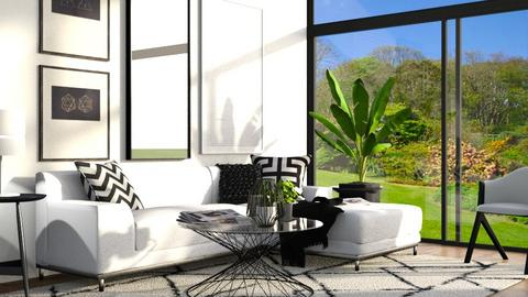 living room - Modern - Living room - by Dayanna Vazquez Sanchez
