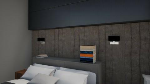 ergasiaperiptwsh 4 - Minimal - Bedroom  - by annakost