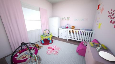 BabyGirl - Feminine - Bedroom - by tena9
