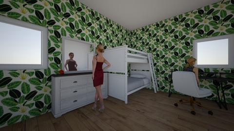 sypialnia - Bedroom  - by Julia Cz