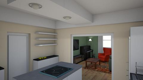 Family_kitchen_dini_vOP_A - Living room - by natajax