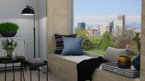 Window bench - Living room  - by Thrud45