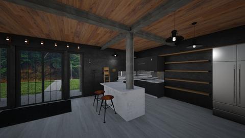 Modern Lake House - by bryrankin11