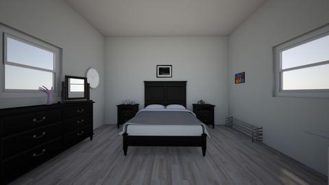 My room 1  - Modern - Bedroom  - by Valentina_