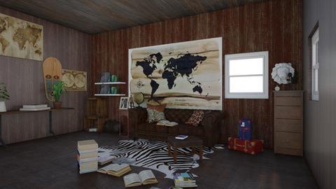 Travel room  - by Pompompudding