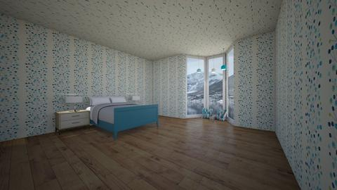 fjord view bedroom - Bedroom  - by imatacocat