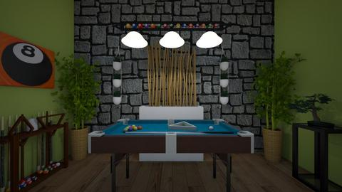 Pool Table Room - Classic - by sirkiwi7