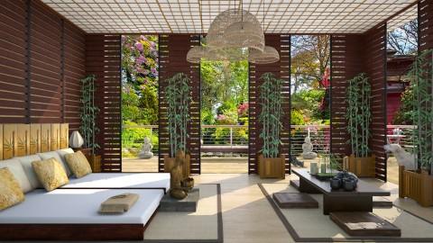 Design 308 Zen Bedroom - Bedroom  - by Daisy320