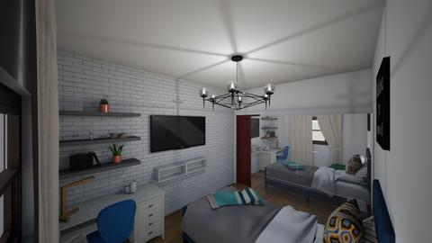bedroom fana - Bedroom  - by andreea26