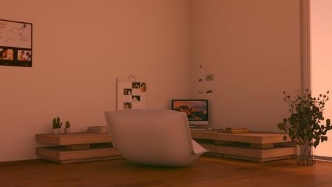 Floor  - Minimal - Office  - by n i n i