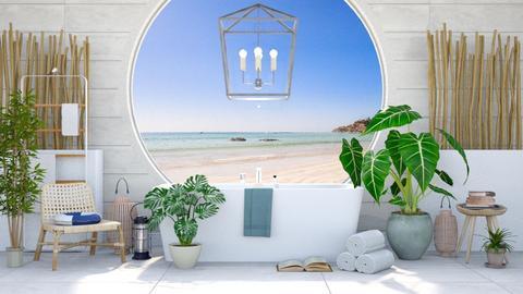 Nautical Bath - Modern - Bathroom  - by millerfam