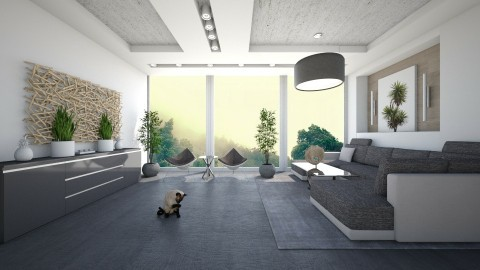 Chill Vibes - Modern - Living room - by xrhstos