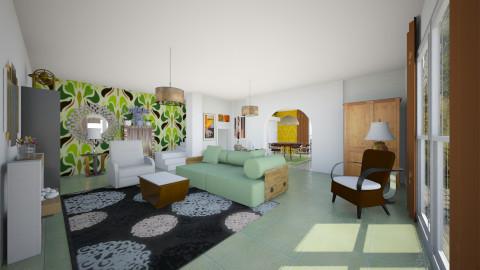 Welcome 2 - Eclectic - Living room  - by mrschicken