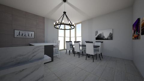 mm - Modern - Kitchen  - by Ritus13