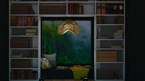 Book Cave - by Yudum Kutlu