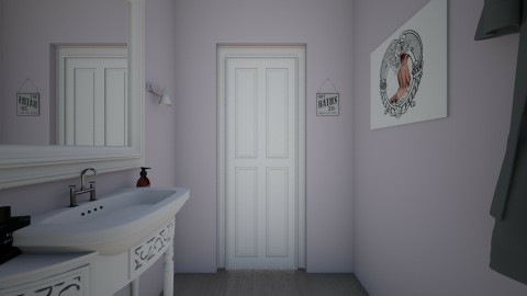 sister - Retro - Bathroom  - by Angela Quintieri