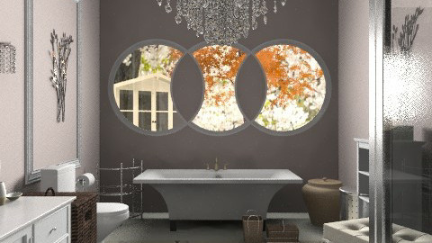 Bathroom Sanctuary - Glamour - Bathroom  - by aveneym