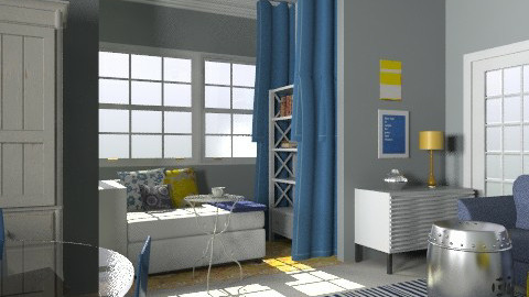 Reading Alcove - Modern - Living room  - by toadfool