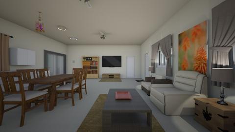 Desert Home Nevada - Living room  - by WestVirginiaRebel