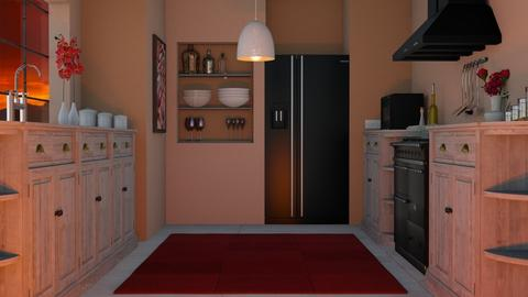 remix - Kitchen - by Sophia Giann