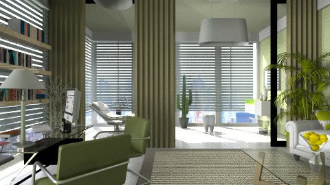 dental - Modern - Office  - by lamzoi