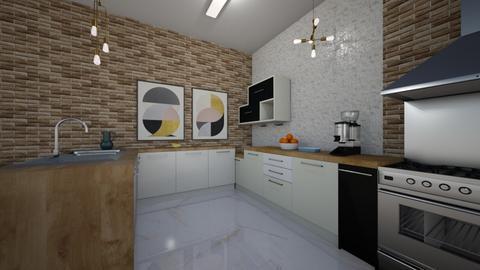 cozinha - Kitchen  - by bruna matos