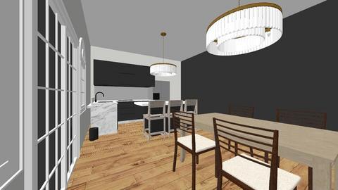 Kitchen  - by chloewillochell