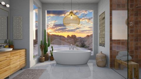 Desert Bathroom - Bathroom  - by smunro7