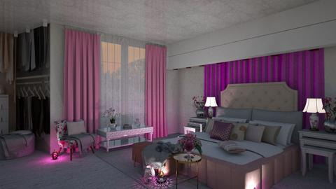 luxury pink - Bedroom - by aggelidi 12312