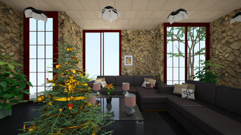 room Nataly - Eclectic - Living room  - by Boka i Deki