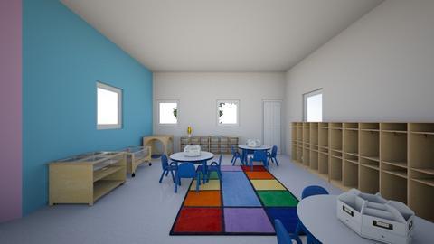 PreSchool  - Kids room - by WoodsAl