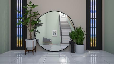 Mirror Mirror in the Hall - Modern - by helsewhi