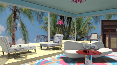 Chilin at the beach house - Eclectic - Garden  - by wiljun