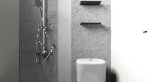 Minimalist Bathroom 2 - Minimal - Bathroom  - by fugutocata89