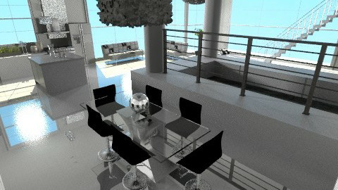 living area - Modern - Living room - by pyksio