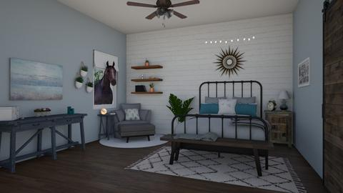 Cowgirl - Country - Bedroom  - by Molly Taylor