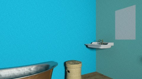 Valeria Bathroom - Retro - Bathroom  - by valeria_sarah